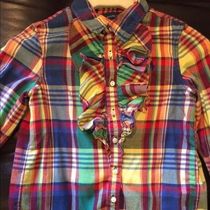 Polo Ralph Lauren girls shirt.
